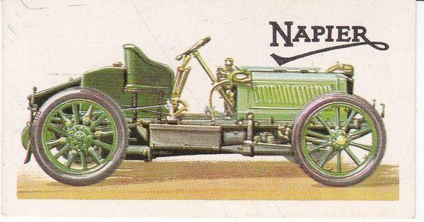 No. 07 – 1902 Napier 35 H.P. Gordon Bennett Racing Car 6.4 Litres (G.B.)