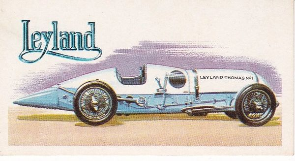 No. 25 – 1925 Leyland Thomas Special 7.2 Litres (G.B.)