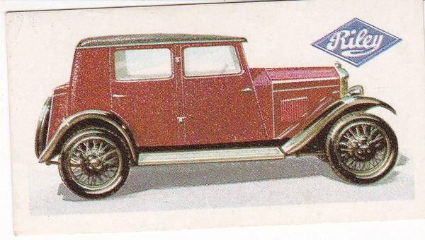 No. 28 – 1927 Riley Nine Monaco Saloon 1.1 Litres (G.B.)