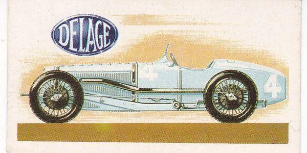No. 29 – 1927 Delage Grand Prix Supercharged 1½ Litres (France)