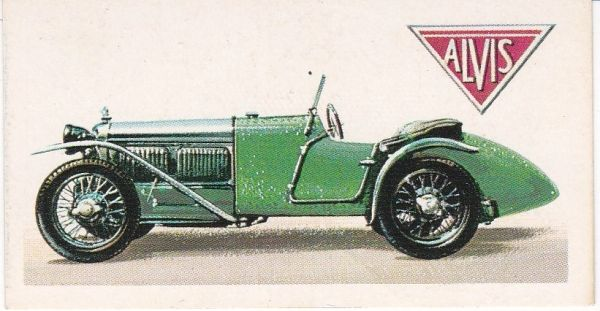 No. 31 – 1928 Alvis Front-Wheel-Drive Supercharged 1½ Litres (G.B.)