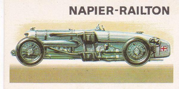 No. 33 – 1933 Napier Railton Track Car 2.4 Litres (G.B.)