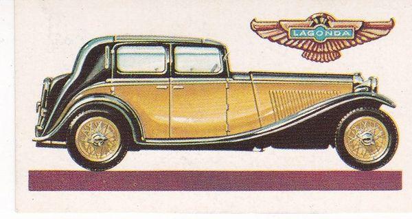 No. 36 – 1934 Lagonda 4½ Litre Saloon (G.B.)