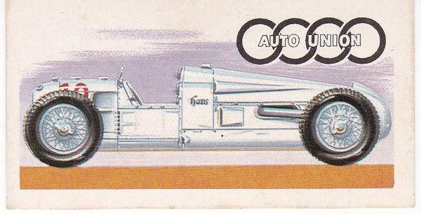 No. 37 – 1934 Auto Union Grand Prix Car Supercharged 4.1 Litres (Germany)