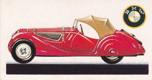 No. 40 1936 B.M.W. 328 2 Litres (Germany)