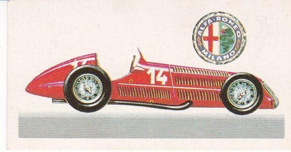 No. 41 – 1938 Alfa Romeo Type 195A Racing Car Supercharged 1½ Litres (Italy)