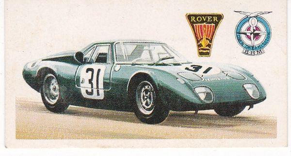 No. 47 – 1965 Rover - B.R.M. Le Mans Gas Turbine Car (G.B.)