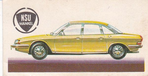 No. 50 – 1968 NSU-Wankel Ro.80 Front-Wheel-Drive 1,990 c.c. (Germany)