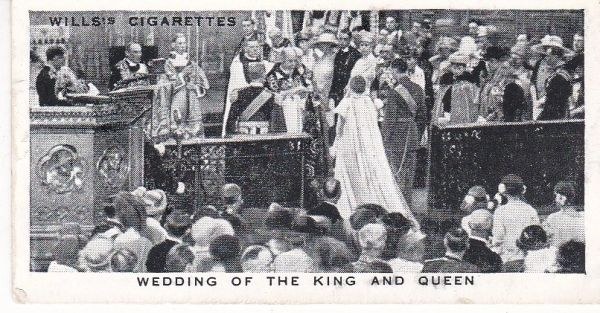 No. 11 Wedding of the King and Queen, 1923