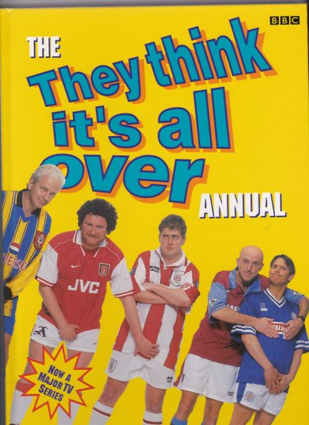 The THEY THINK IT'S ALL OVER Annual BBC Books 1997
