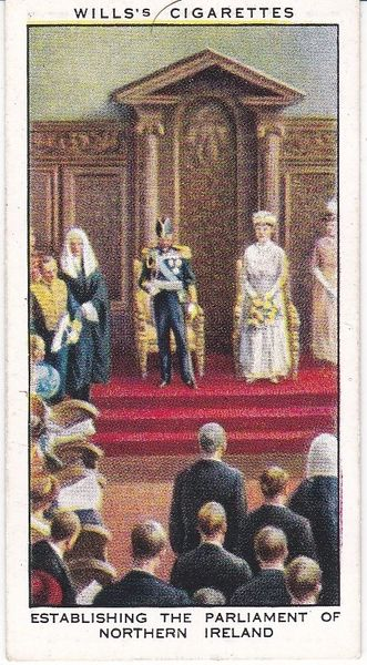 No. 13 Establishing the Parliament of Northern Ireland