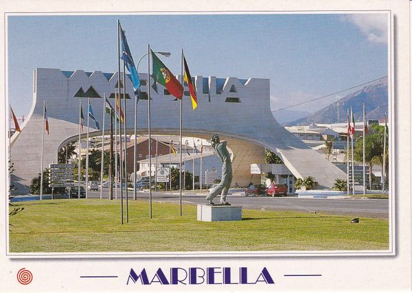 Post Card Spain Costa del Sol Marbella M-453