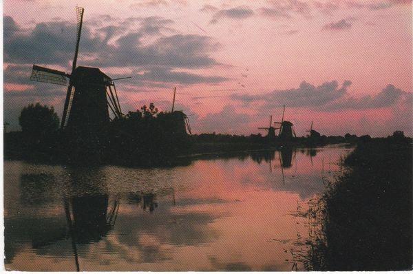 Post Card Netherlands Kinderdijk / Holland