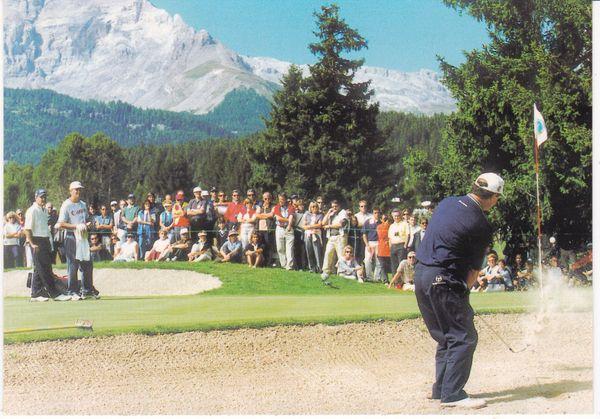 Post Card Switzerland Crans-Montana Golf Club Crans-sur-Sierre