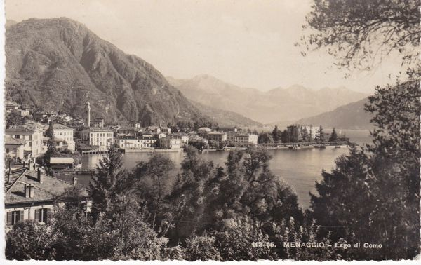 Post Card Italy Menaggio Lago di Como Lake Como