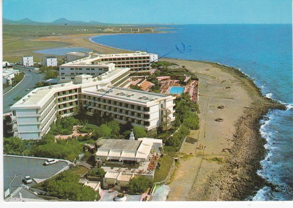 Post Card Spain Canary Islands Lanzarote Hotel San Antonio
