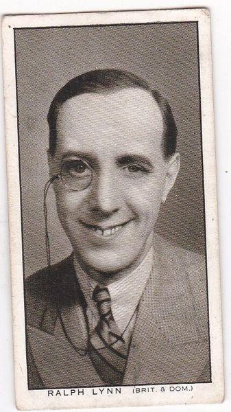No. 19 Ralph Lynn