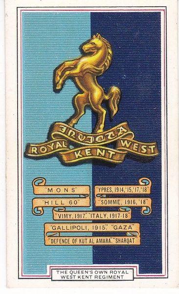 No. 04 Queen's Own Royal West Kent Regiment