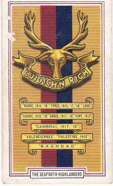 No. 23 The Seaforth Highlanders