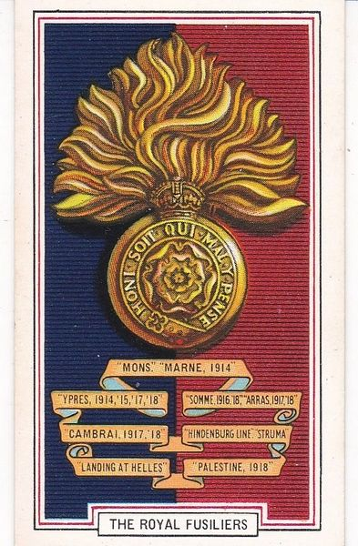No. 30 The Royal Fusiliers