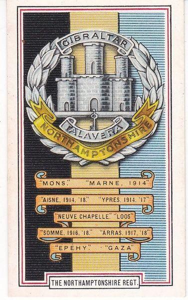No. 38 The Northamptonshire Regiment