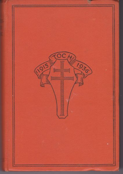 various authors A Birthday BookThe Coming of Age Festival of Toc H 1936
