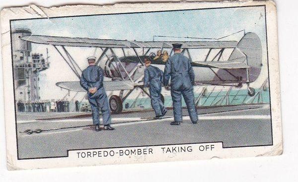 No. 04 Torpedo-Bomber Taking Off