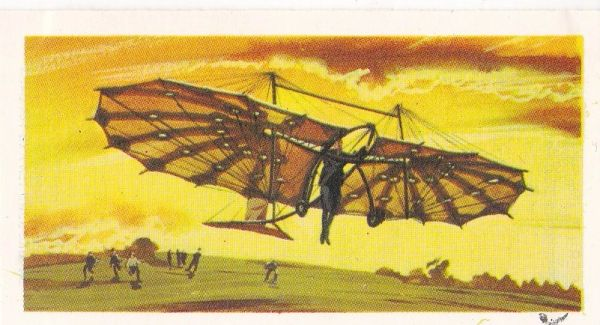 black back reprint No 02 Pilcher Hang-Glider
