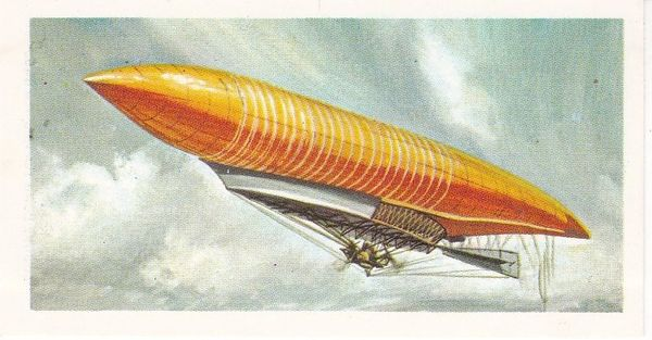black back reprint No 03 Lebaudy Airship