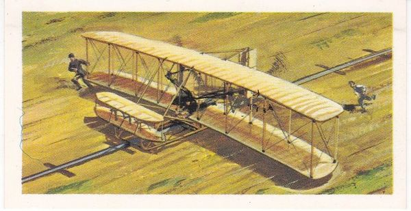 black back reprint No 04 Wright Flyer