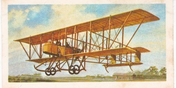black back reprint No 06 Maurice Farman Biplane