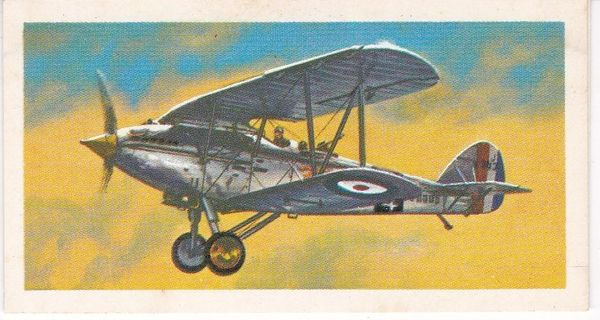 black back reprint No 15 Hawker Hart