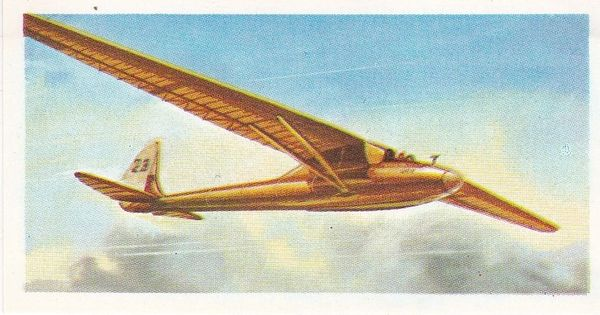 black back reprint No 16 Kronfeld's Wien Sailplane