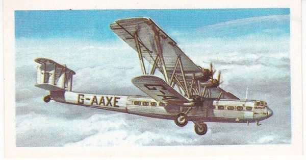 black back reprint No 17 Handley Page HP 42