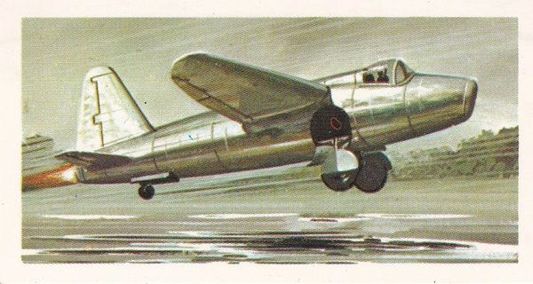 black back reprint No 23 Heinkel 178