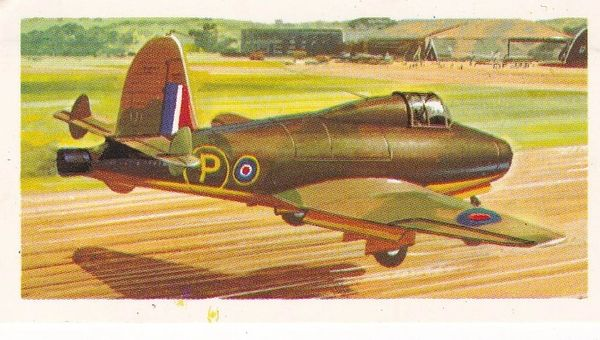 black back reprint No 24 Gloster-Whittle E.28/39