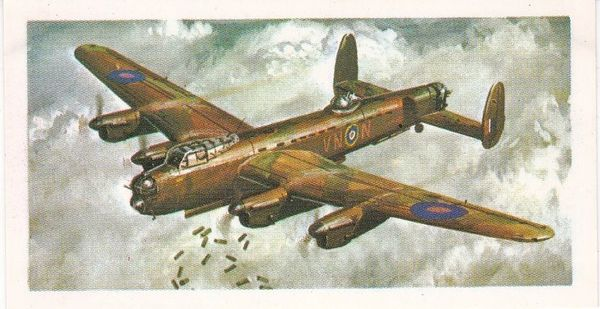 black back reprint No 28 Avro Lancaster