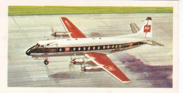 black back reprint No 34 Vickers Viscount