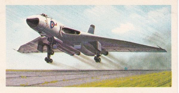 black back reprint No 35 Avro Vulcan
