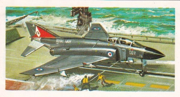 black back reprint No 39 McDonnell Douglas Phantom