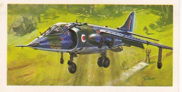 black back reprint No 47 Hawker Siddeley Harrier