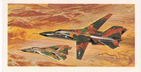 black back reprint No 48 General Dynamics F-111