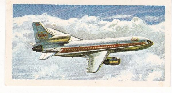black back reprint No 49 Lockheed TriStar