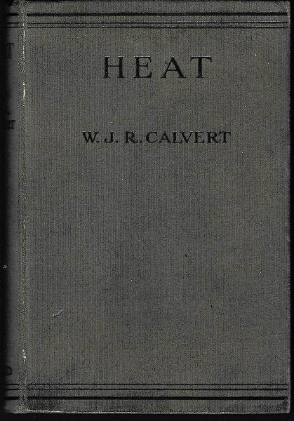 Calvert, W J R HEAT 1q922 hb