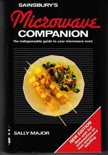 Sainsbury's MICROWAVE COMPANION Sally Major Martin Books 1993 hb
