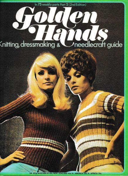 Golden Hands Part 5 1972 (2nd Edition) mag