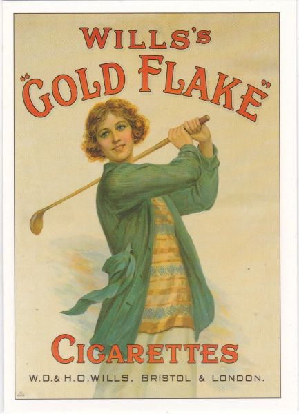 Golf Series (A) Advertising Will's Gold Flake Cigarettes ROGS1