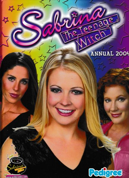 SABRINA THE TEENAGE WITCH Annual 2004