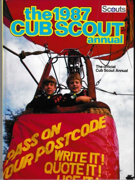 The 1987 Cub Scout Annual 1986