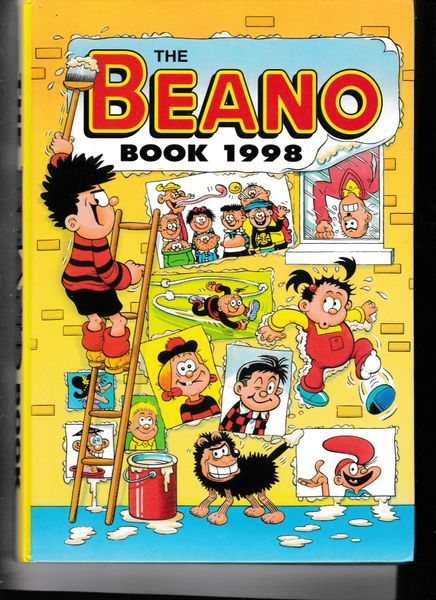 Beano Book: 1998 by D.C.Thomson & Co Ltd (Hardback, 1997)